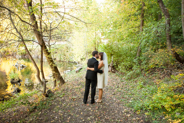 Wedding photography at Log Haven from Justin Hackworth